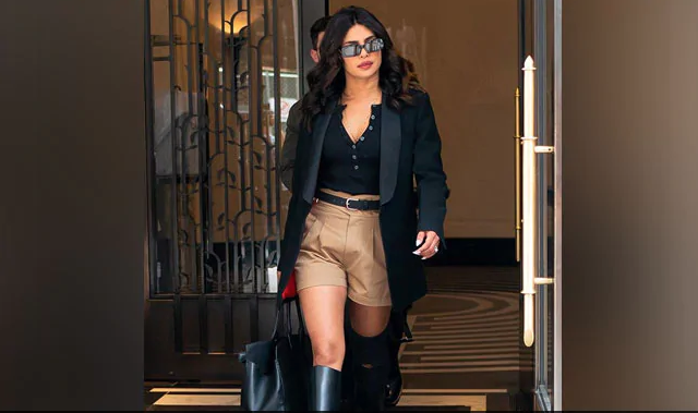 Priyanka Chopra trolled for wearing khaki shorts