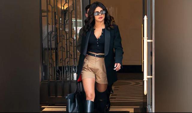 Priyanka Chopra trolled for wearing khaki shorts