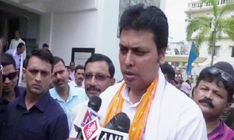 Tripura CM plans to turn Agartala into world class city