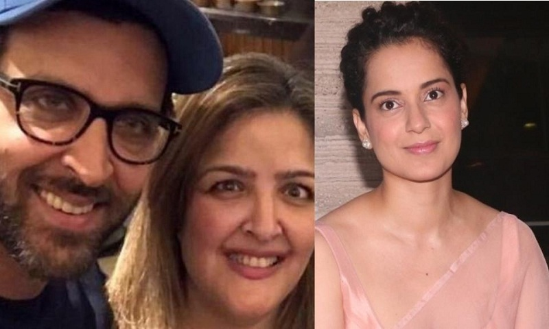 Hrithik Roshan's sister says she supports Kangana Ranaut all through