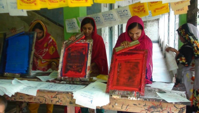 The future is in the bag for Satkhira's disadvantaged women