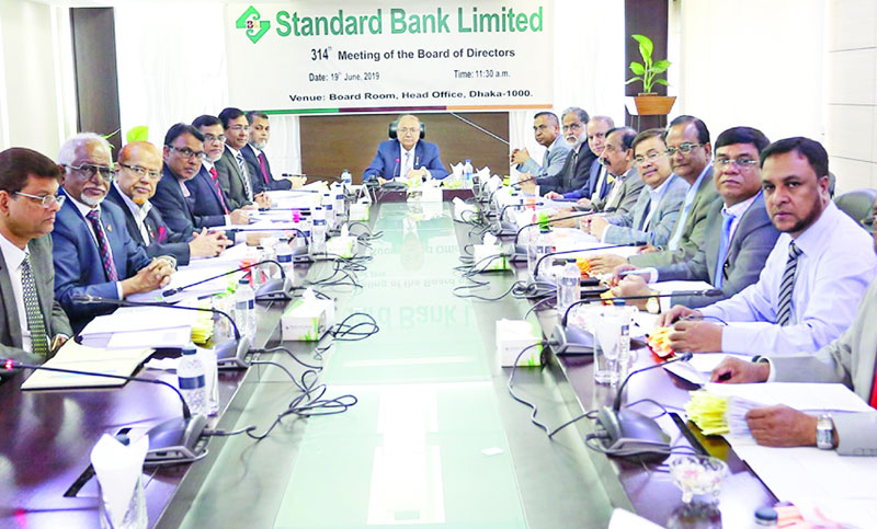 314th board meeting of Standard Bank held