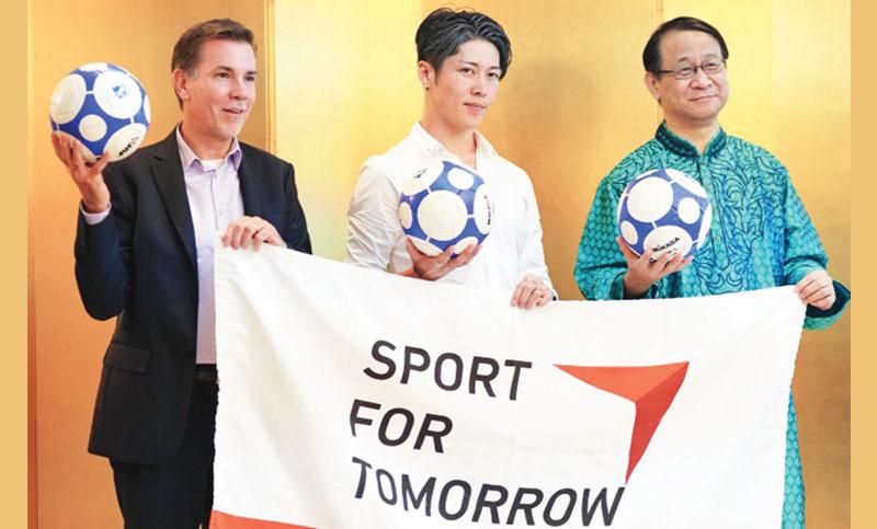 Japan promotes peace through sport