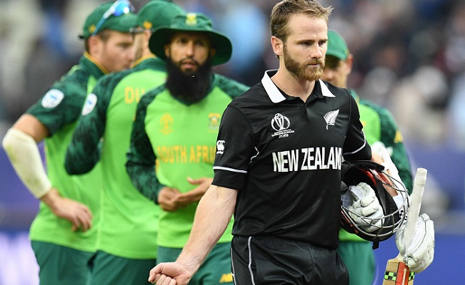 New Zealand beat South Africa by 4-wicket in WC