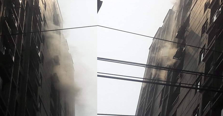 Fire at Paribagh building doused