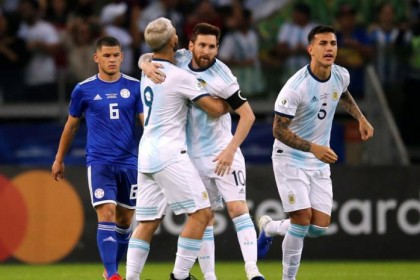 Messi rescues Argentina as Paraguay pay penalty