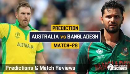 Confident Bangladesh face in-form Australia today | 2019-06-20