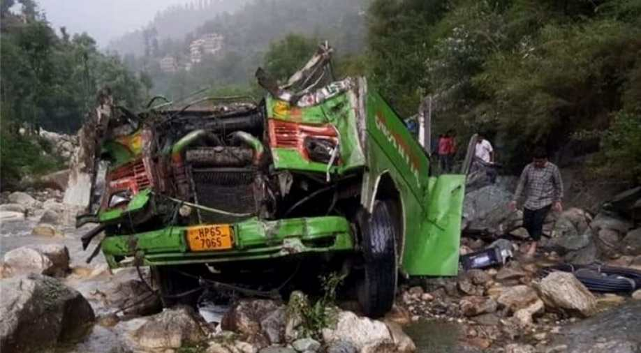 Death toll rises to 44 as bus falls into gorge in India