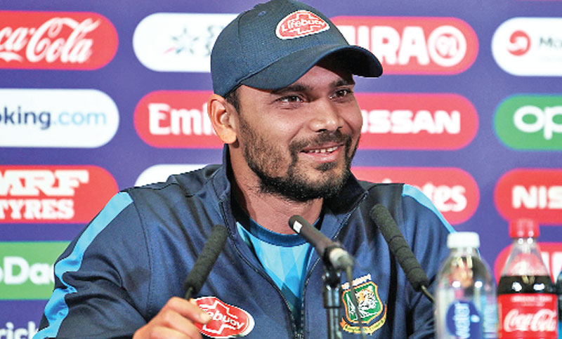 We are not one-man army: Mashrafe