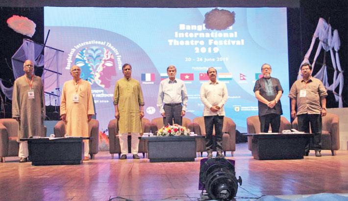 Bangladesh Int'l Theatre Fest begins at BSA