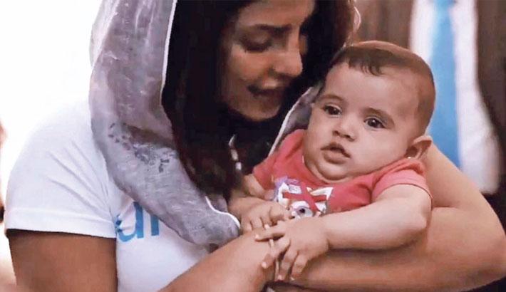 Priyanka shares a heartfelt message on World Refugee Day
