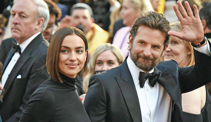 Bradley-Gaga romance rumours were difficult for Irina to handle