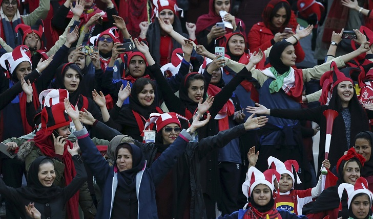 FIFA pushes Iran to allow female football fans back into stadiums
