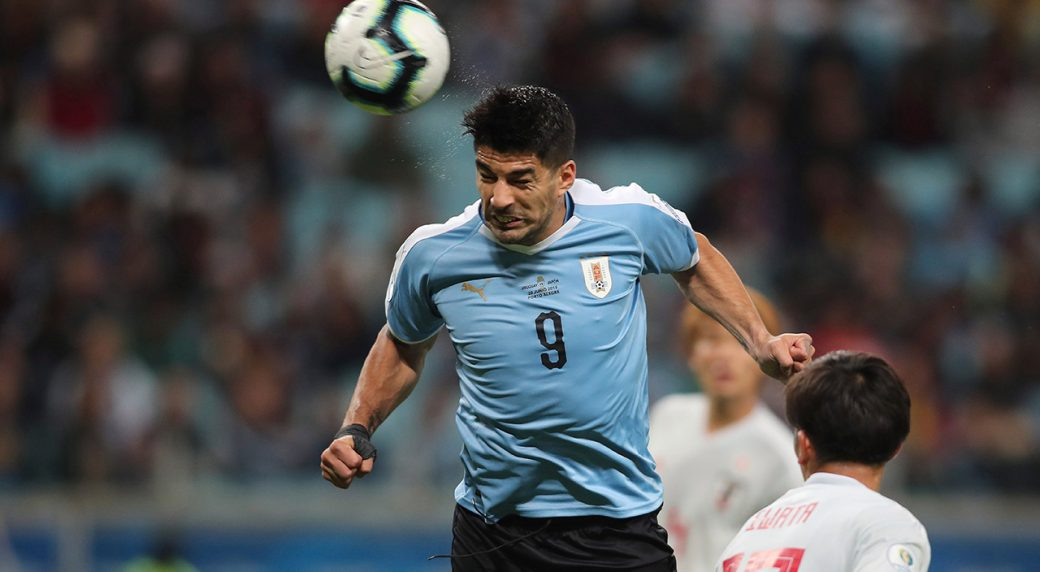 Uruguay draws with Japan 2-2 in Copa America