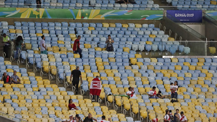 Copa America organizers say attendances higher than in 2015