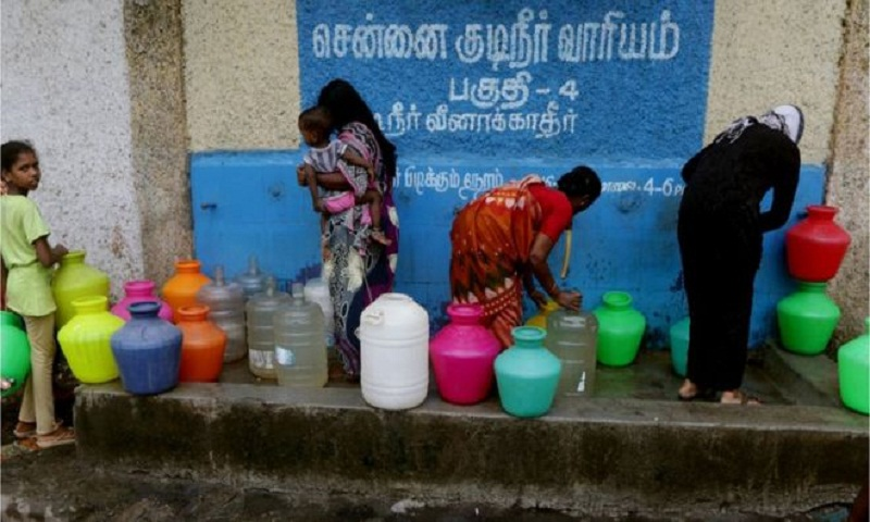Chennai water crisis: 'We can't do anything'