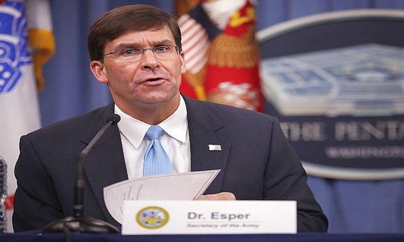 Trump nominates Mark Esper to be his new defence secretary