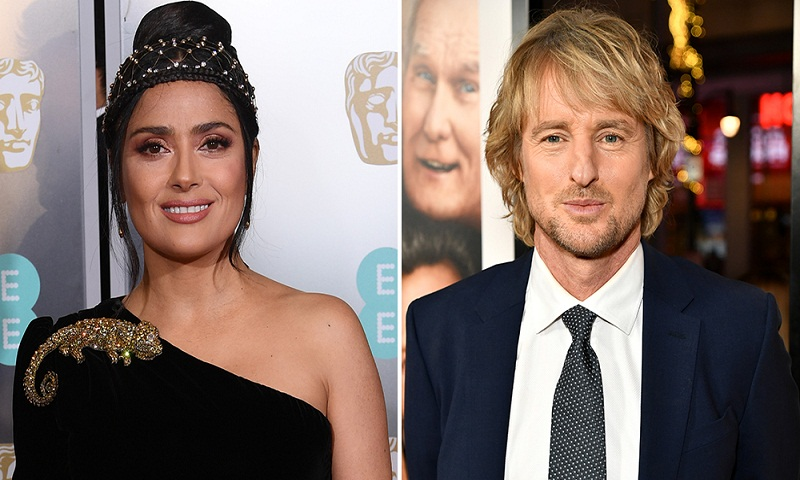Salma Hayek, Owen Wilson to star in 'Bliss'