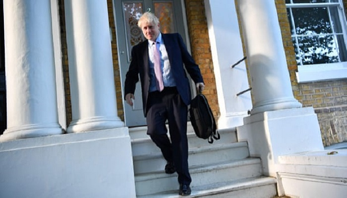 Police called to loud altercation at Boris Johnson's home