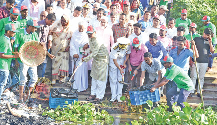 Inauguration waste removal activities