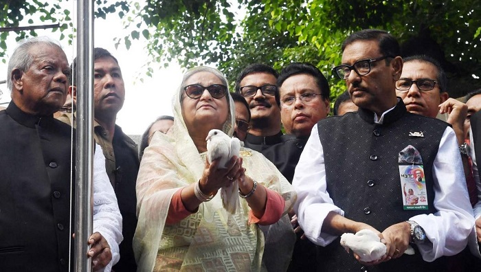 Awami League's 70th founding anniversary celebrated