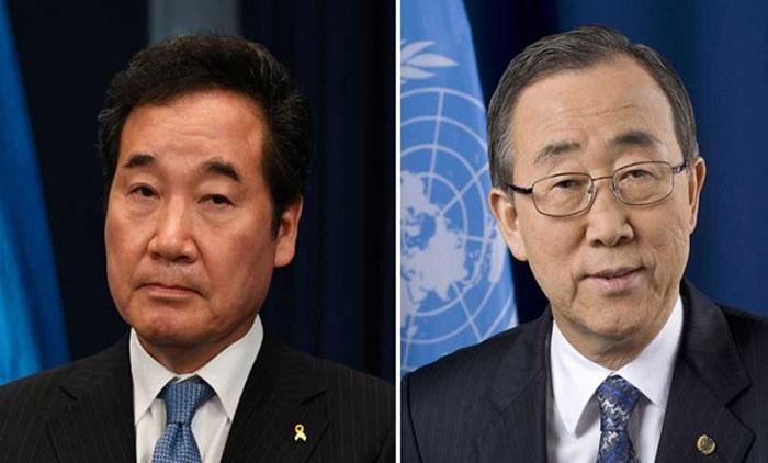 South Korean PM, Ban Ki-moon to visit Dhaka in July