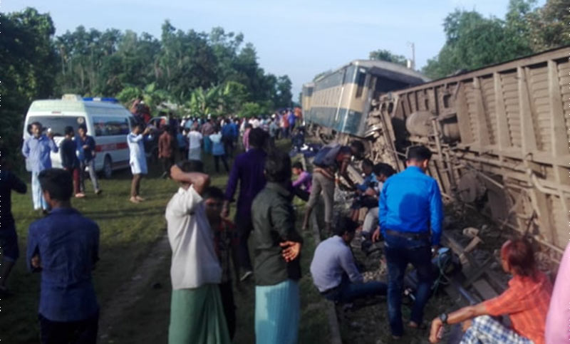 Two nursing students killed in Moulvibazar train mishap