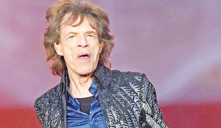 Mick Jagger returns to stage following heart surgery