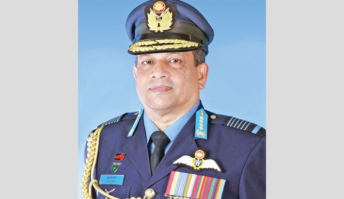 Air Force chief returns from France