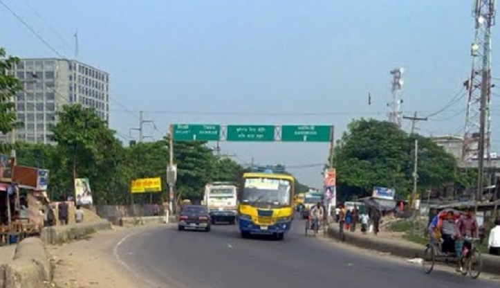 Vehicular movement on Dhaka –Sylhet highway resumes