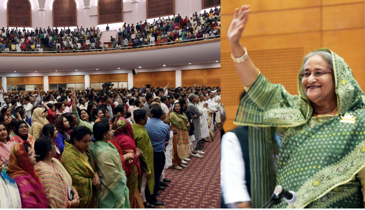 No one can destroy Awami League: Hasina