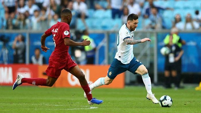 Lautaro, Aguero goals against Qatar rescue Argentina in Copa America