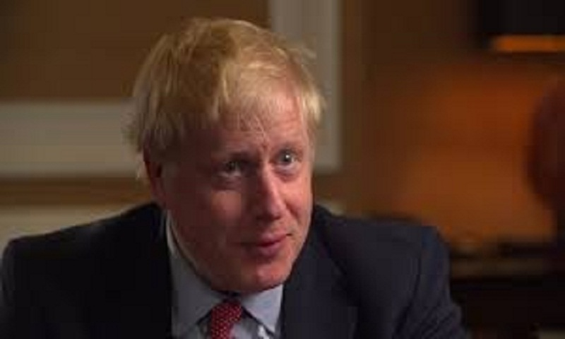 Boris Johnson defends Brexit plan and 'row' silence