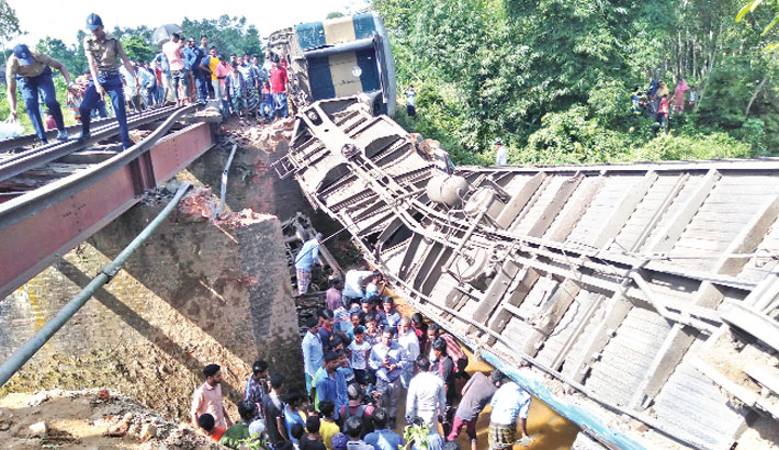Weak bridge, overcrowd train behind Upaban crash