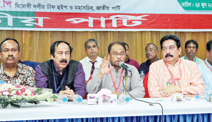 JP to be made an exemplary political party: GM Quader