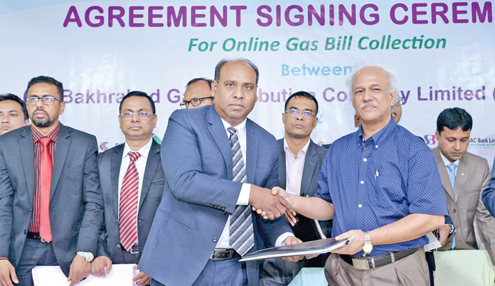 Mercantile Bank, Bakhrabad Gas ink deal
