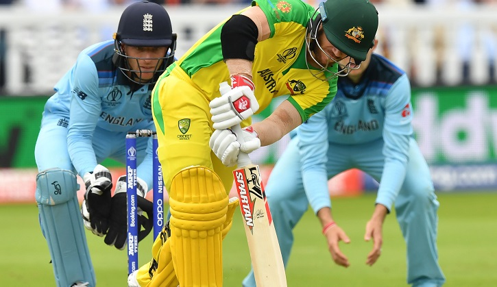 Finch rides his luck as Australia make sound start against England
