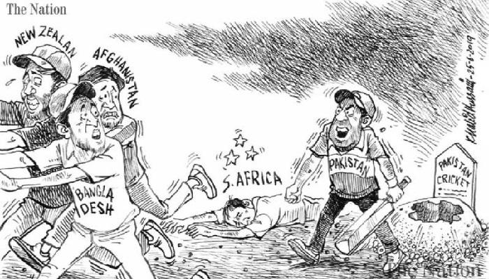 Pakistani daily publishes cartoon satirising Team Tigers
