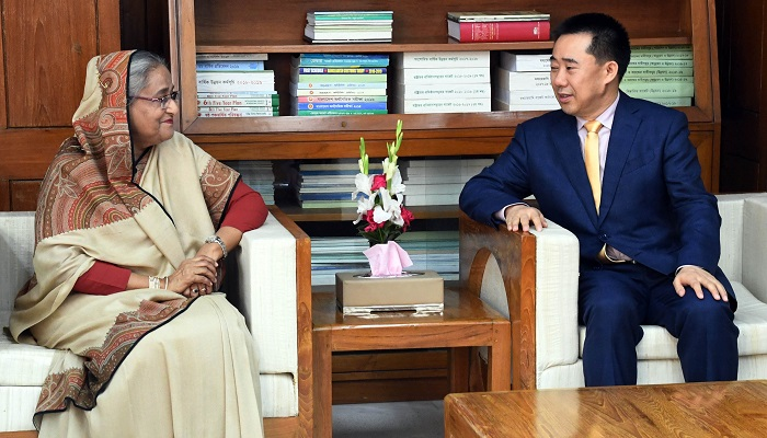 Convince Myanmar to take Rohingyas back, PM urges China