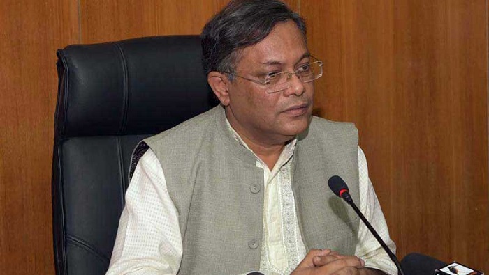 Bogura-6 by-elections prove fair election possible by using EVMs: Hasan Mahmud