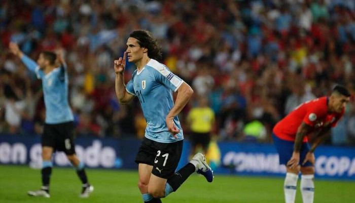 Uruguay beats Chile, faces Peru in Copa America quarterfinal