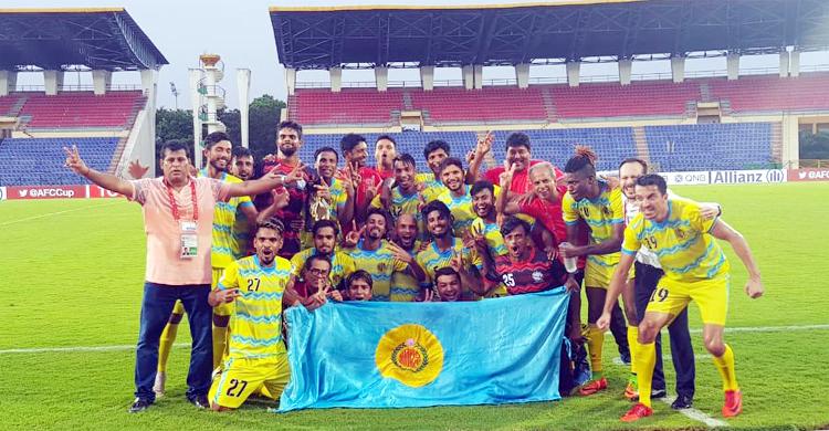 Abahani make history beating India's Minerva Punjab