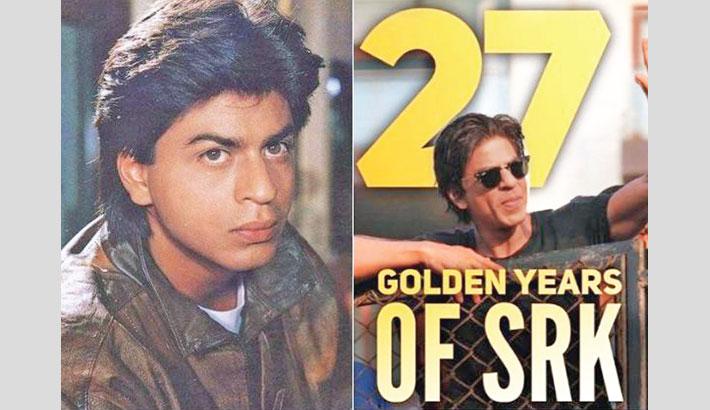 Shah Rukh Khan's 27 years in Bollywood
