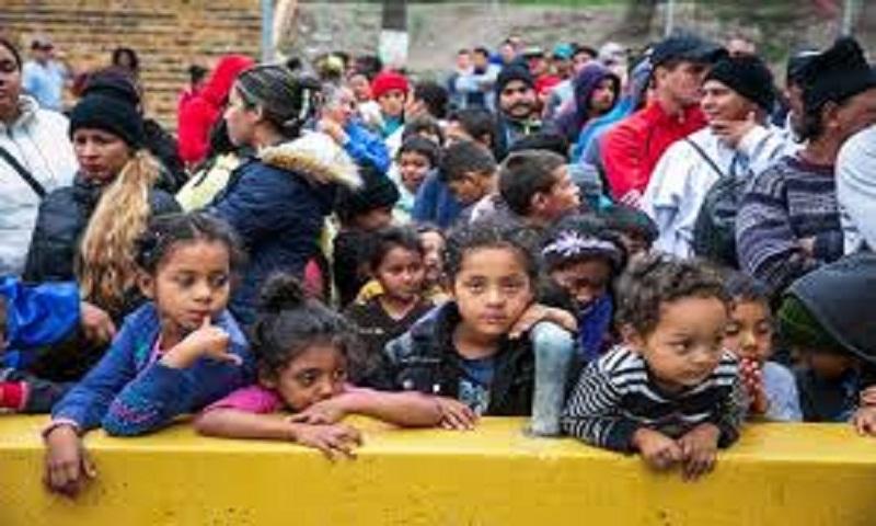 Over 100 migrant children returned to 'horrific' border station