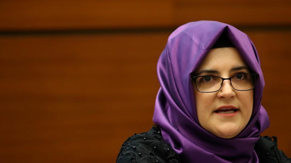 Khashoggi's fiancee says US 'ethically' responsible to seek justice