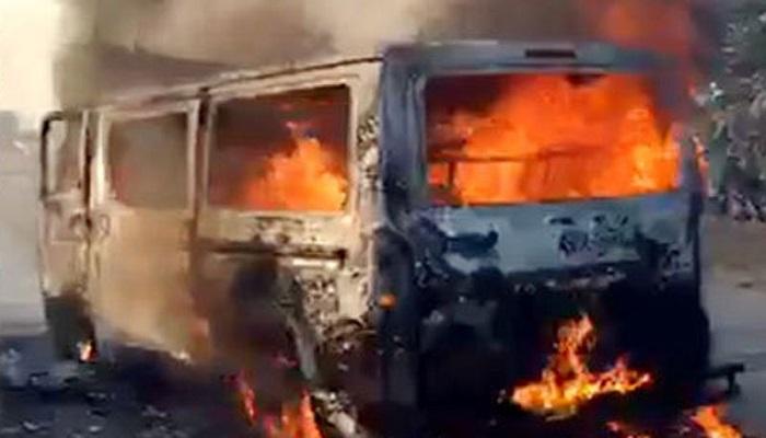 20 injured in Chattogram microbus cylinder blast