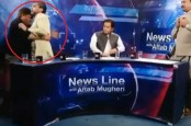 Viral video: Pakistan leader pushes and punches journalist on live television debate