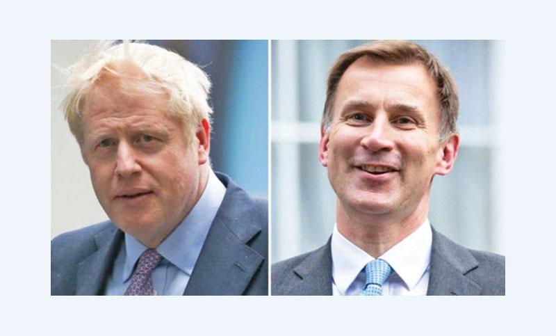 Johnson, Hunt divided over Brexit plans