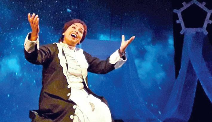 25th show of Helen Keller today