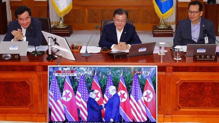 NKorea urges South to stop mediating between North, US